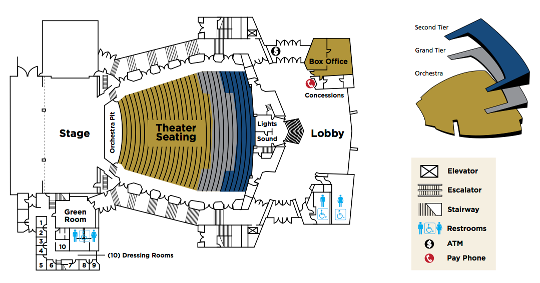 floor plan community center theater