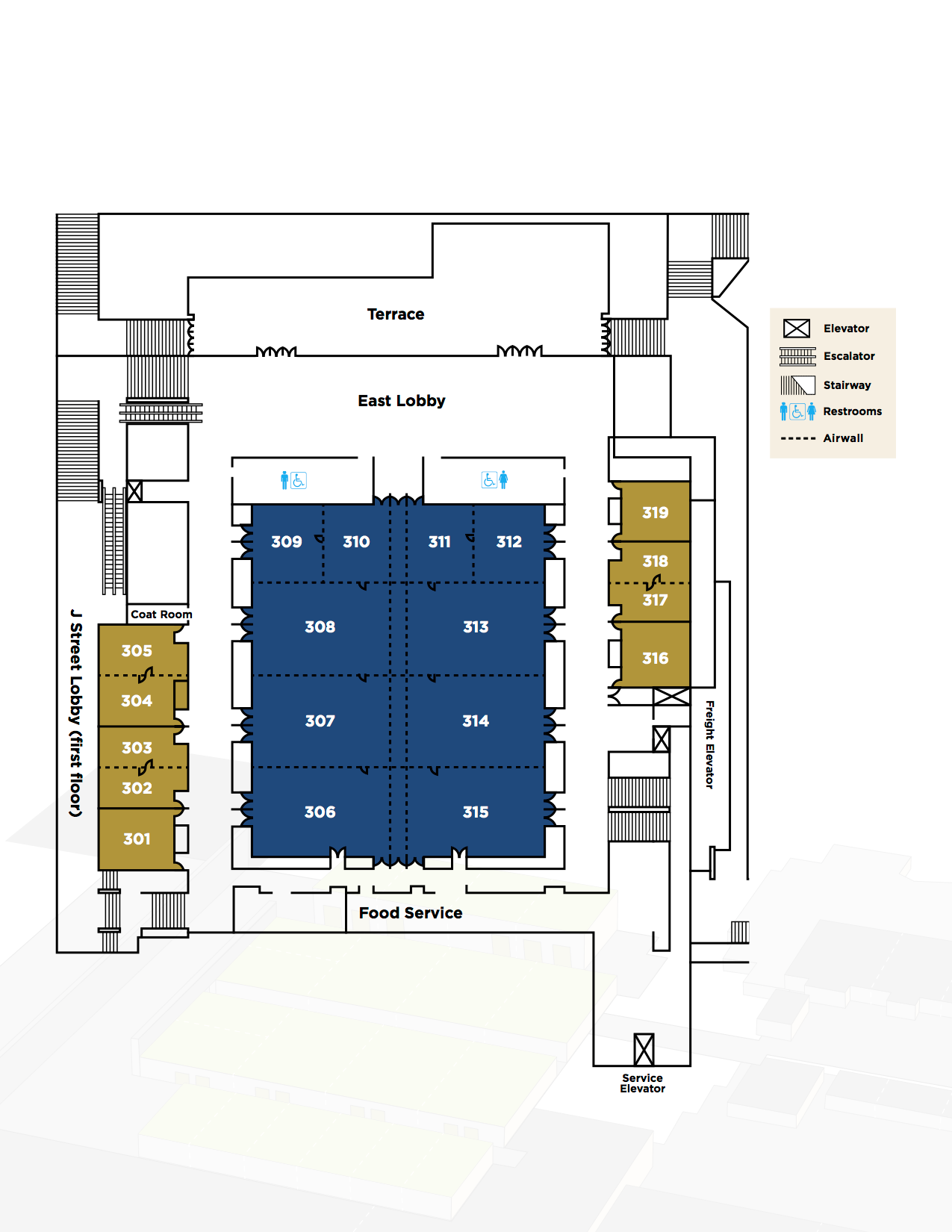 Meeting Rooms Floor Plan